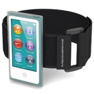 Mediabridge Armband for iPod Nano - 7th Generation (Clear)
