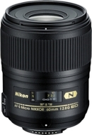 Nikon AF-S Micro Nikkor 60mm f/2.8G ED Zoom Lens - Black