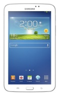 Samsung Galaxy Tab 3 7 inch Tablet - White (Dual Core 1.2GHz Processor, 1GB RAM, 8GB Storage, Wifi, BT, 2x Camera, Android 4.1)
