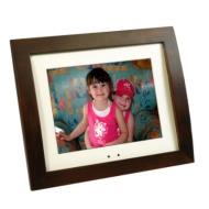 "CL) 8"" WHITE ACRYLIC DIGITAL FRAME"