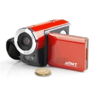 ATMT DVC-3060 Digital Video Camera 3MP with 1.5 inch Colour Screen - Red