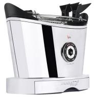 Bugatti 13VOLOCR/110 Volo 2-Slice Toaster, Chrome