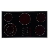"Dacor Millennia 36"" Electric Touch Cooktop Black"