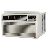 LG - 12,000 BTU Window Air Conditioner - White LW1212ER