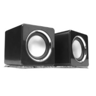 QOOPro - Multimedia Cube Speakers System - Black