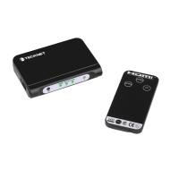 TeckNet® 3 Port Auto Switch Box plus Remote - 3x1 HUB (3 way input 1 output) 1080p Full HD Switcher