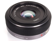 Panasonic Lumix H-H020 - lens - 20 mm