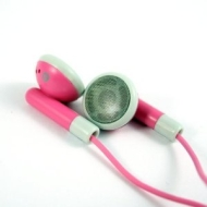 Pink Stereo Earphones Headphones for ALL Bold Curve Storm Pearl Torch BlackBerry Phones