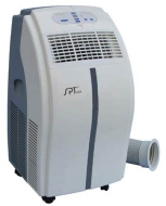 Sunpentown WA-1230H 12,000btu Portable AC with Self-Evaporating Technology (with Heater)