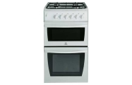 Indesit KD3G2SWIR Single Gas Cooker - Inc Del/Instal/Recycle