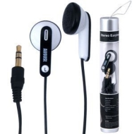 August EP505 In-Ear Stereo Earphones - Black