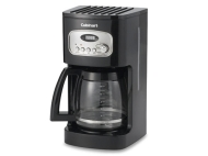 Cuisinart Black Programmable Coffeemaker