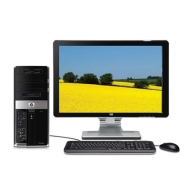 HP Pavilion M9340F Desktop PC (2.66 GHz Intel Core 2 Quad Q6700 Processor, 6 GB RAM, 750 GB Hard Drive, DVD Drive, Vista Premium)