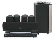 LH-T9654S Home Theater System (5.1 Speakers, 155 W/Channel, CD Player, DVD Player, Tuner)