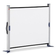 NOBO Portable Screen Desktop - Projection screen - 49 in (125 cm) - 4:3 -