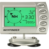 Digital Vehicle Compass with Thermometer, Barometer and Altimeter