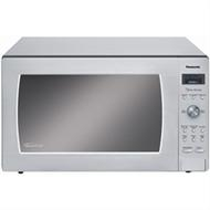 Panasonic Luxury Full-Size 2.2 cu. ft. Countertop Microwave Oven with Inverter Technology, 1250 Watt (White)