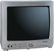 "13A25 13"" Direct View TV (13"" - NTSC - 181 Channels - 4:3 - HDTV Ready)"