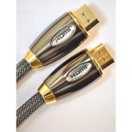 5METER PRO GOLD RED (1.4a Version, 3D, 15.2Gbps) HDMI TO HDMI CABLE WITH ETHERNET,COMPATIBLE WITH 1.3c,1.3b,1.3,1080P,... 360,SKYHD,VIRGIN BOX,FULL HD