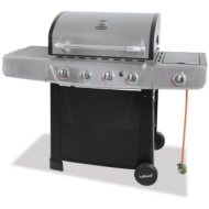 Uniflame 4 Burner and Side Burner Gas Barbecue