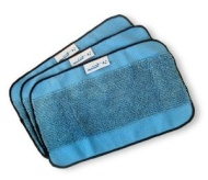 Mint Microfiber Mopping Cloths 3 Pack