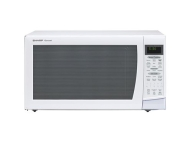 Sharp Electronics White Microwave Oven with Carousel Turntable