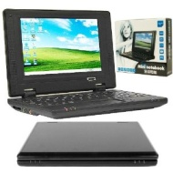 Trademark Global 72-80211 Mini Notebook Computer W/ Windows Ce Wifi And 7 Inch Display