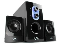 VM Audio VMCS21 300W 2.1 Home/Computer Multimedia Surround Speaker System                                        VM Audio VMCS21 300W 2.1 Home/Compute