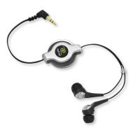 Emerge Retractable Stereo Earphone