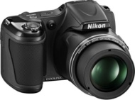 Nikon Coolpix 16MP/30x Zoom Black Digital Camera