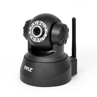 Pyle PIPCAM5 IP Camera Surveillance Security Monitor with WiFi, Pan/Tilt Control, Video Record, Image Capture, Downloadable App