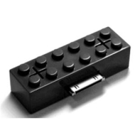 iBlock: Lego Brick Mini Portable Speaker For iPod / iPhone (Black)
