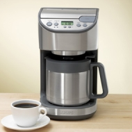 KT4065- 10 Cup Stainless Steel Thermal Coffee Maker