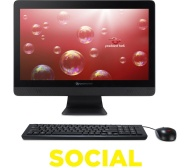 """PACKARD BELL One Two Series oTS3481 19.5"""" All-in-One PC"""