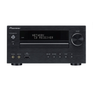 Pioneer XC-HM70DAB Micro System with iPod, iPhone Dock, DLNA, Internet Radio, CD, FM Tuner and USB (2 x 50 W) (Black) (no speakers)