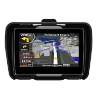 """Rupse Waterproof IPX7 Portable Universal Motorcycle 4.3"""" Touch Screen GPS Nav Navigation Navigator With Free Map Multimedia Player Mp3 Video Bluetooth"""