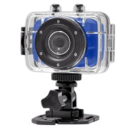 Sound Around Gear-Pro High-Definition Sport Action Camera,720p Wide-Angle Camcorder With 2.0 Touch Screen - SD Card Slot, USB Plug And Mic - All Mount