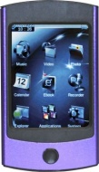 Trio Rhythm Touch 4GB Video and MP3 Player Purple