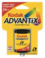 Kodak Advantix 100 Speed 25 Exposure APS Film