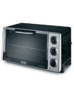 DELONGHI RO2058 Convection Oven w/Rotisserie, 12.5L, .5 cu.ft, Black