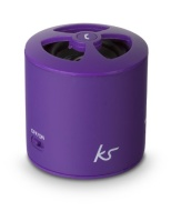 KitSound PocketBoom Enceinte Portable Sans Fil Bluetooth avec Fonctionnalité Prise D'appel Main en Libre Comptable iPhone, iPad, Android, Smartphones