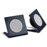 Merkury Innovations Universal Square Stereo Speaker - Black (M-SPM210) (Discontinued by Manufacturer)
