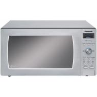 Panasonic Prestige 1250-Watt Full-Size Stainless Steel Microwave Oven