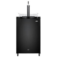 Summit Freestanding Kegerator - Black