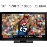 Vizio 50 Class 1080P 120Hz Led Smart Hdtv