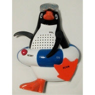 BABY PENGUIN RADIO BLUE