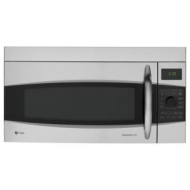 GE Profile microwave oven with convection - over-range - stainless steel