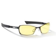 Gunnar Optiks SCO-04301 SteelSeries Scope Full Rim Advanced Video Gaming Glasses with Amber Lens Tint, Onyx/Carbon Frame Finish