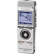 Olympus DM-420 - Digital voice recorder - flash 2 GB - WMA, MP3