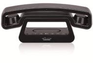 Swissvoice Telefon ePure black TAM , Schwarz